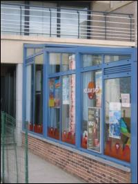 Zijkant/voorkant winkel